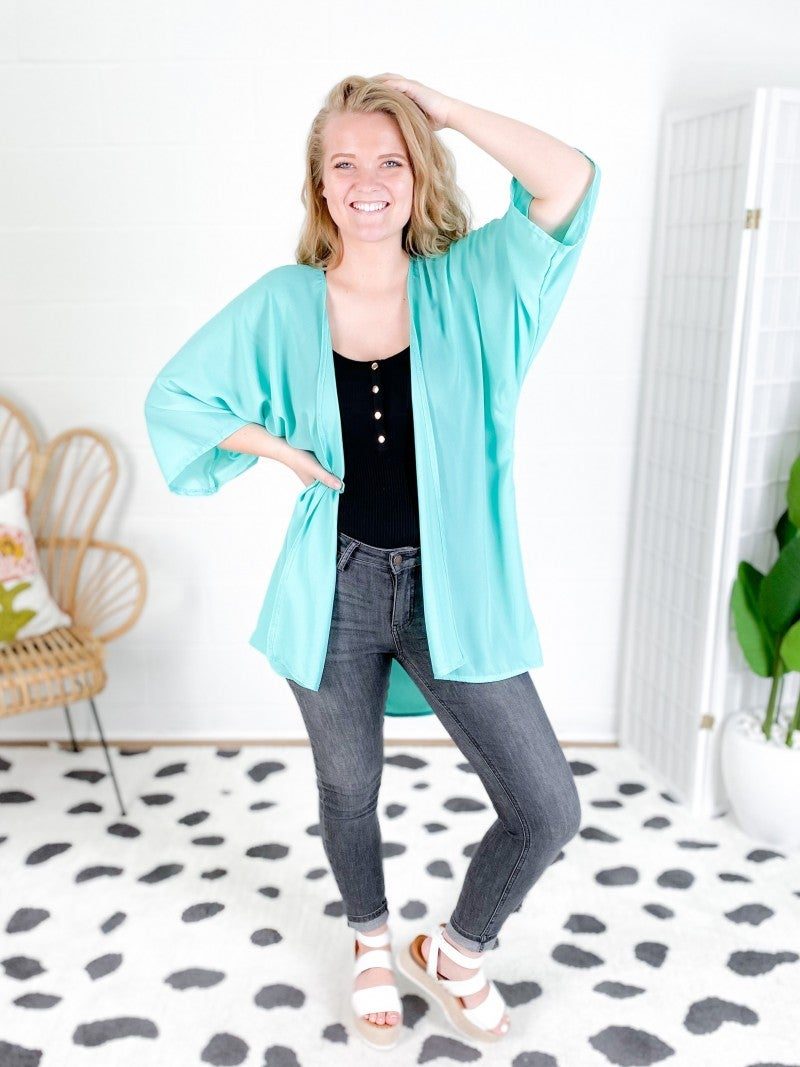 Colorful Kimono Cardigan (Multiple Colors)