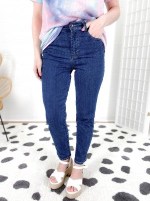 C'est Toi (Tricot) Throw Back Non-Distressed Relaxed Jeans