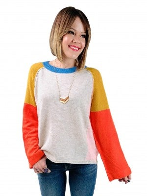 Sunshine on a Wintry Day, Colorful Sweater (Multiple Colors)