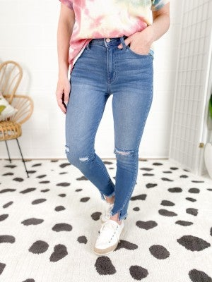 PLUS/REG Kancan Spring Break High Rise Jeans