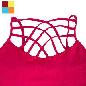 **UPDATED COLORS** SINGLE Criss Cross TANK!!!