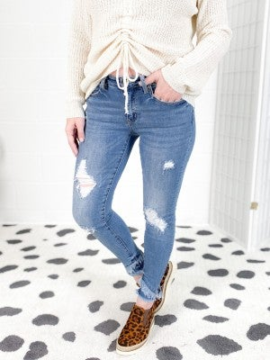 Kancan Tulip Field Skinny Jeans