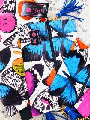 Monarch Butterfly Makeup Junkie Bag
