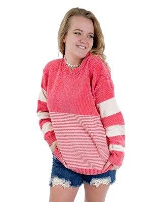 **Oversized Super Soft Velvet Sweater (Multiple Colors)