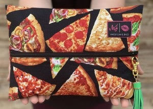 The Pizzeria Makeup Junkie Bag (Multiple Sizes)