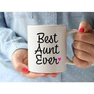 Best Aunt Ever Mug (15oz)