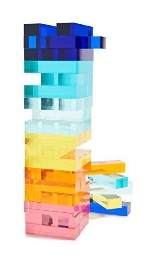 Lucite Jumbling Tower
