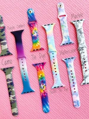 Slim Apple Watch Bands (Multiple Colors)