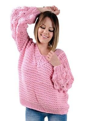 Handmade V-neck POL Sweater (Multiple Colors) BLACK  FRIDAY DEAL