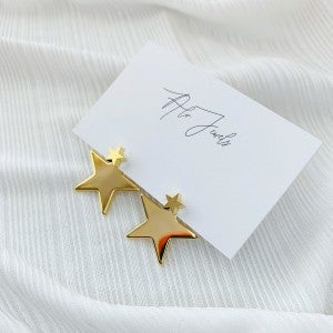 Gold Layered Star Studs