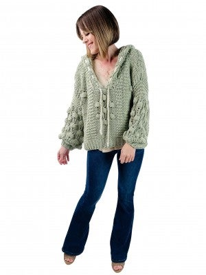 Chunky Bauble Handmade POL Hoodie Sweater (Multiple Colors) EPIC BF DEAL