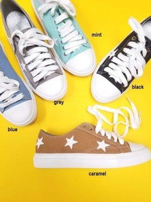Low Top Star Casual Sneaker (Multiple Colors)