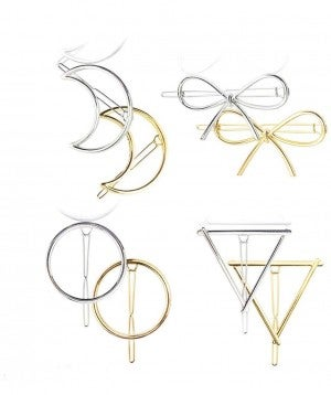 Hair Clips ~ Gold or Silver