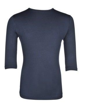 Girls 3/4 Sleeve Navy Layering Top *Final Sale*