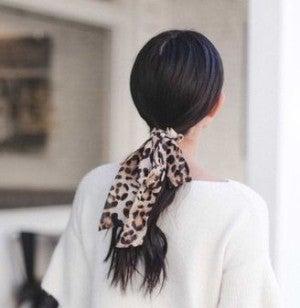 Leopard Tie Scrunchie *Final Sale*