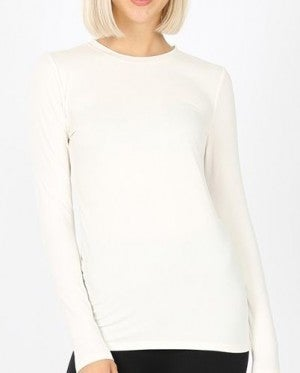 Fitted Layering Top Long Sleeve