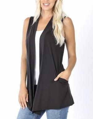 Your FAVORITE Drape Vest ~ MORE COLORS! *Final Sale*