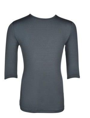 Girls 3/4 Sleeve Dark Gray Layering Top *Final Sale*