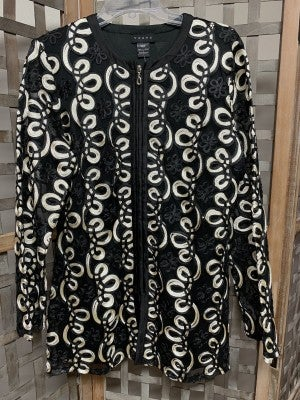WEAVZ Black/Beige Jacket