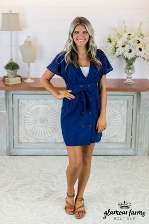 Best Dressed Surplice Dress