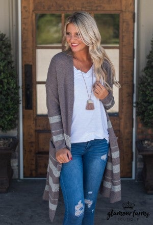 Feels For Fall Duster Cardigan