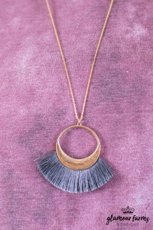 sku10258 | Tassel Necklace