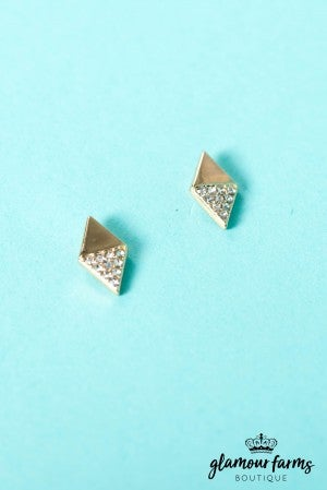 Ella Triangle Earring
