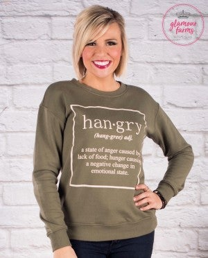 **Daily Deal** Hangry Sweatshirt