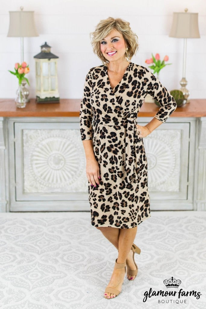 54128d0c974fd City Of Love Leopard Wrap Dress