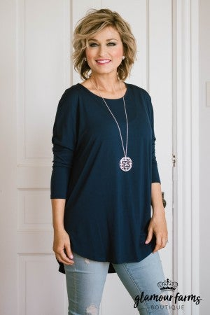 Mellie Solid Tunic