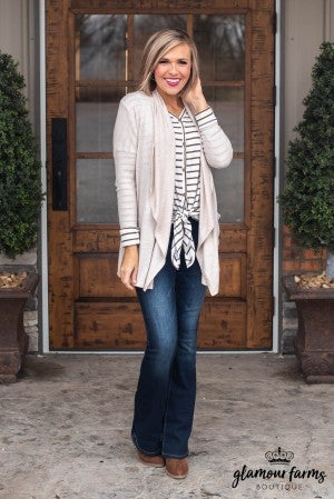 Comfort Clause Brushed Knit Cardigan
