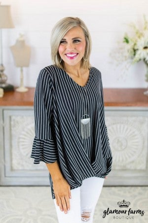 Sophia Stripe Top
