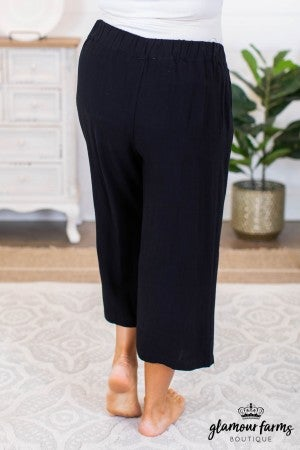 sku8383 | Linen Wide Leg Pants