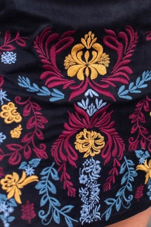 Kind Of Wonderful Embroidered Skirt