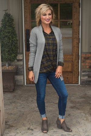 **Daily Deal** Grace Ribbed Cardigan