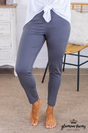 sku13814 | Side Pocket Active Leggings