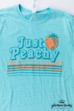 sku13046 | Just Peachy Graphic Tee