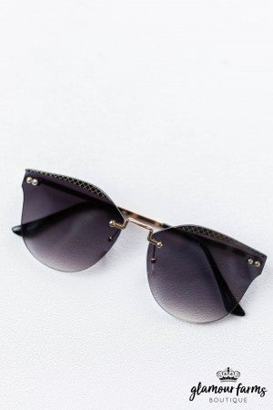 sku13051 | Rimless Sunglasses