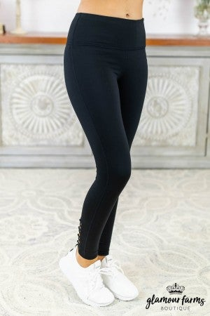 Lattice Back Active Legging