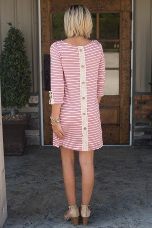 **Daily Deal** Chasing Forever Stripe Dress