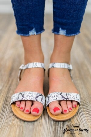 **Daily Deal** Honey Flat Sandal