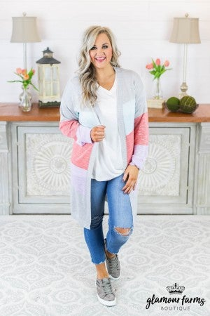 Presley Color Block Cardigan