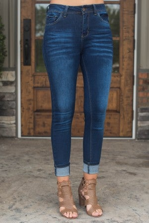 Angela High Waisted Skinny Jean