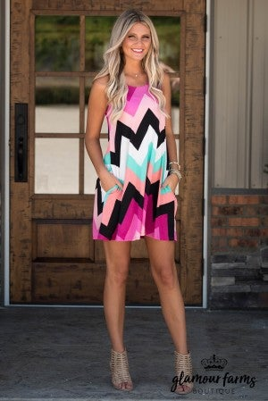 Get Your Chevron On Dress