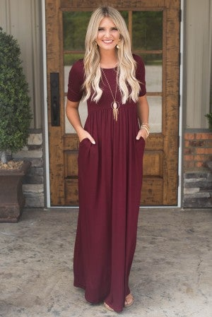 **Daily Deal** Chic To The Maxi Dress