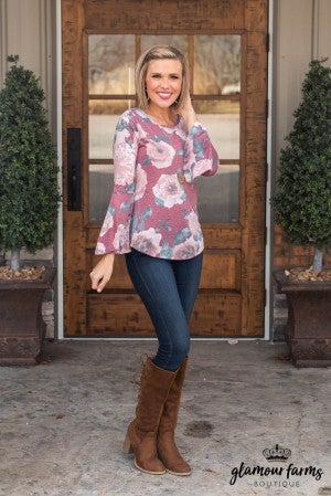 Carmen Bell Sleeve Top