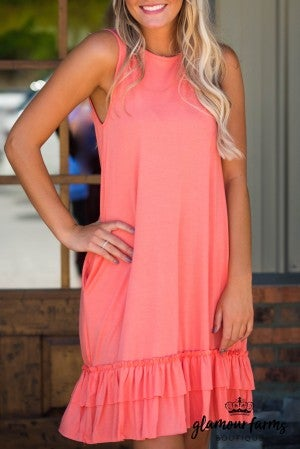 **Daily Deal** Southern Sass Ruffle Hem Dress
