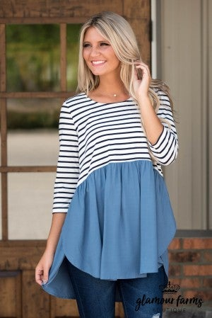 Lift Your Spirits Color Block Tunic