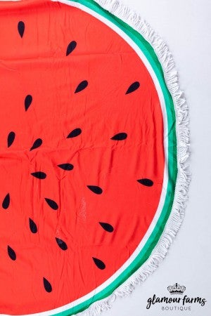 sku13246 | Round Beach Towel