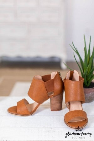 sku10630 | Faith Open Toe Bootie